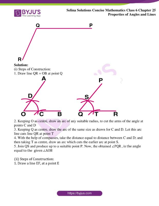 selina solutions concise mathematics class 6 chapter 25 ex c 2