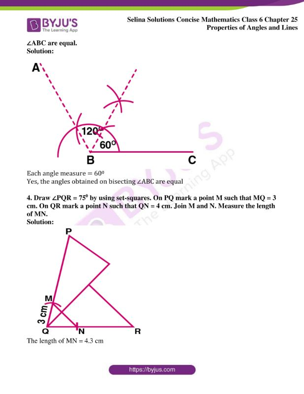 selina solutions concise mathematics class 6 chapter 25 ex d 2