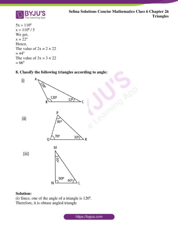 selina solutions concise mathematics class 6 chapter 26 ex a 6