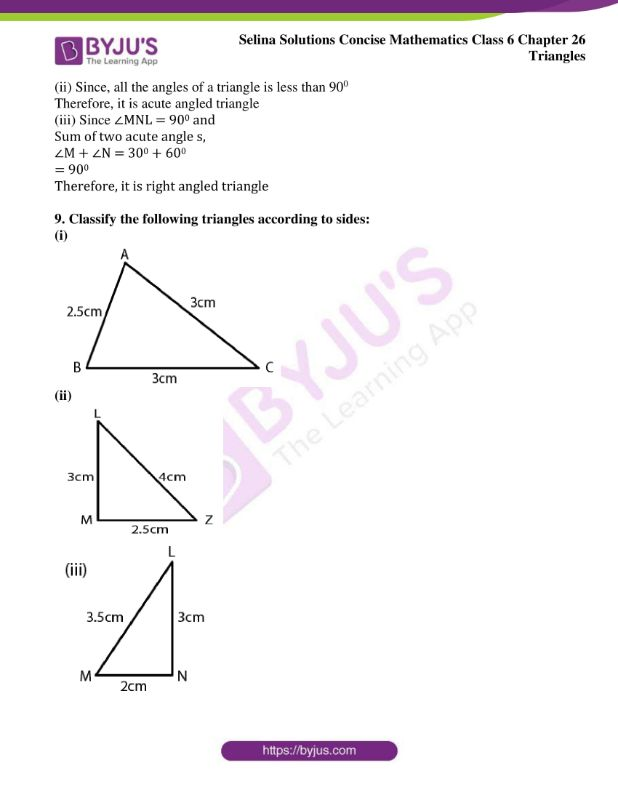 selina solutions concise mathematics class 6 chapter 26 ex a 7
