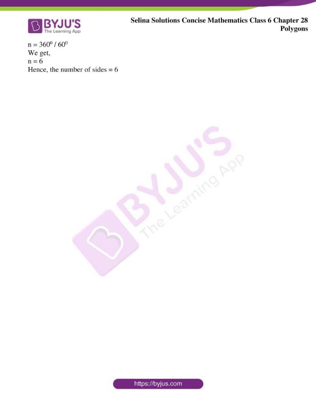 selina solutions concise mathematics class 6 chapter 28 ex b 6