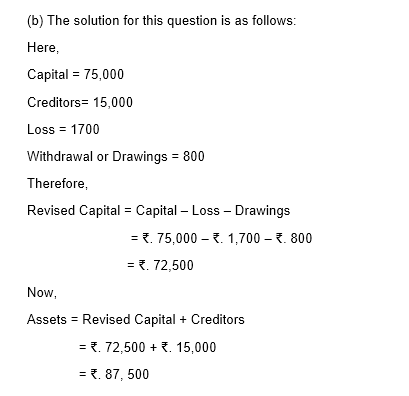 TS Grewal Solutions for Class 11 Accountancy Chapter 2 - Accounting Equation -30