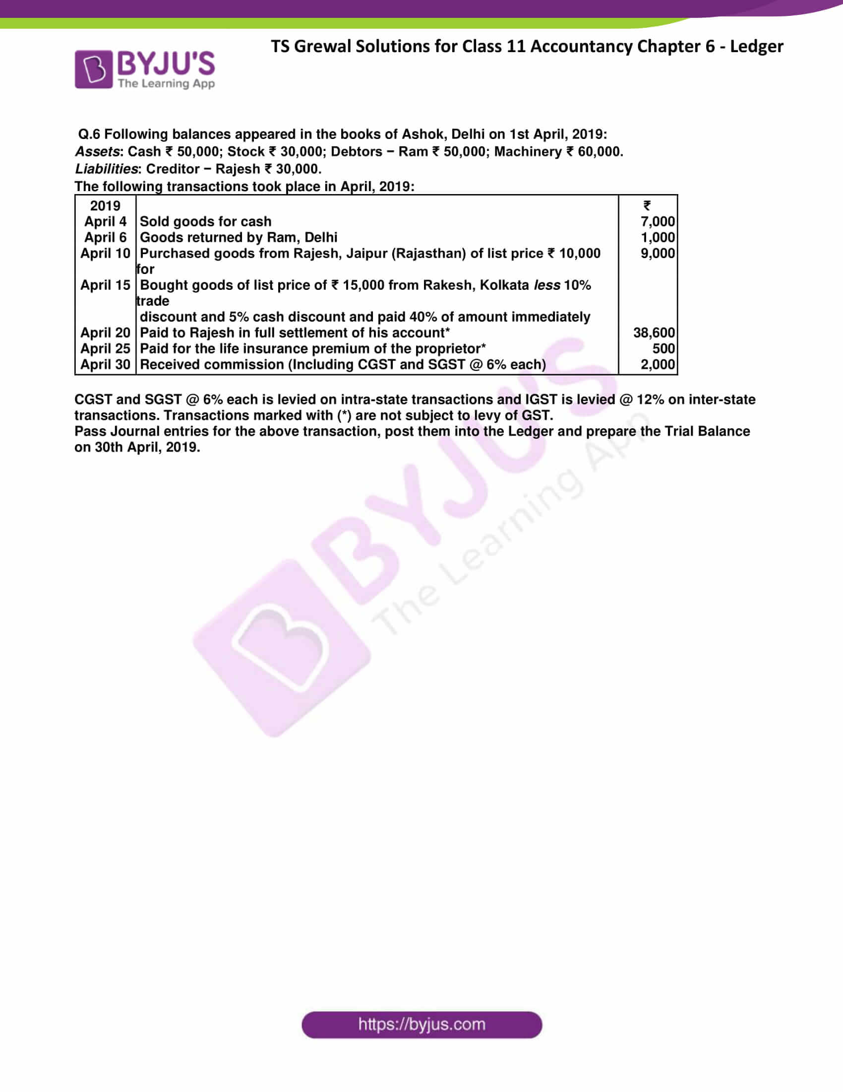 ts grewal class 11 accountancy chapter 6 ledger 29