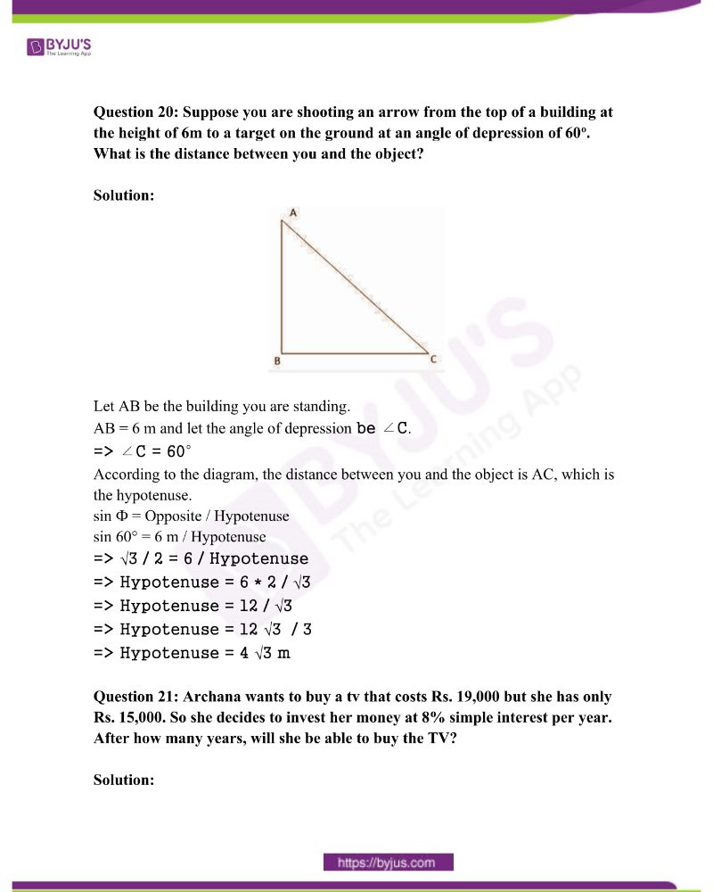 AP Class 10 Examination Question Paper Solutions March 2015 Paper 2 10