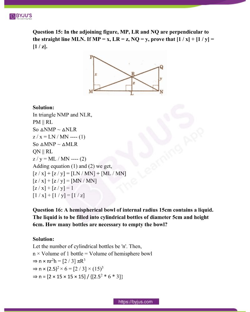 AP Class 10 Examination Question Paper Solutions March 2015 Paper 2 7