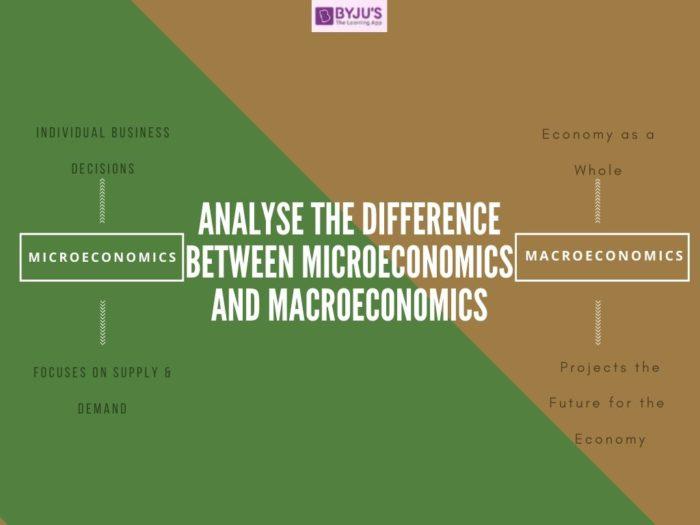 Difference between Microeconomics and Macroeconomics - UPSC Economics