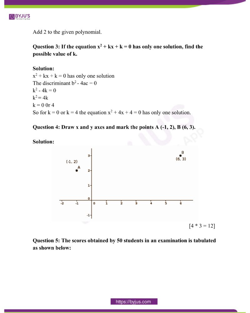 Kerala Class 10 Examination Question Paper Solutions March 2015 1