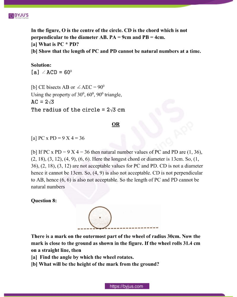 Kerala Class 10 Examination Question Paper Solutions March 2015 4