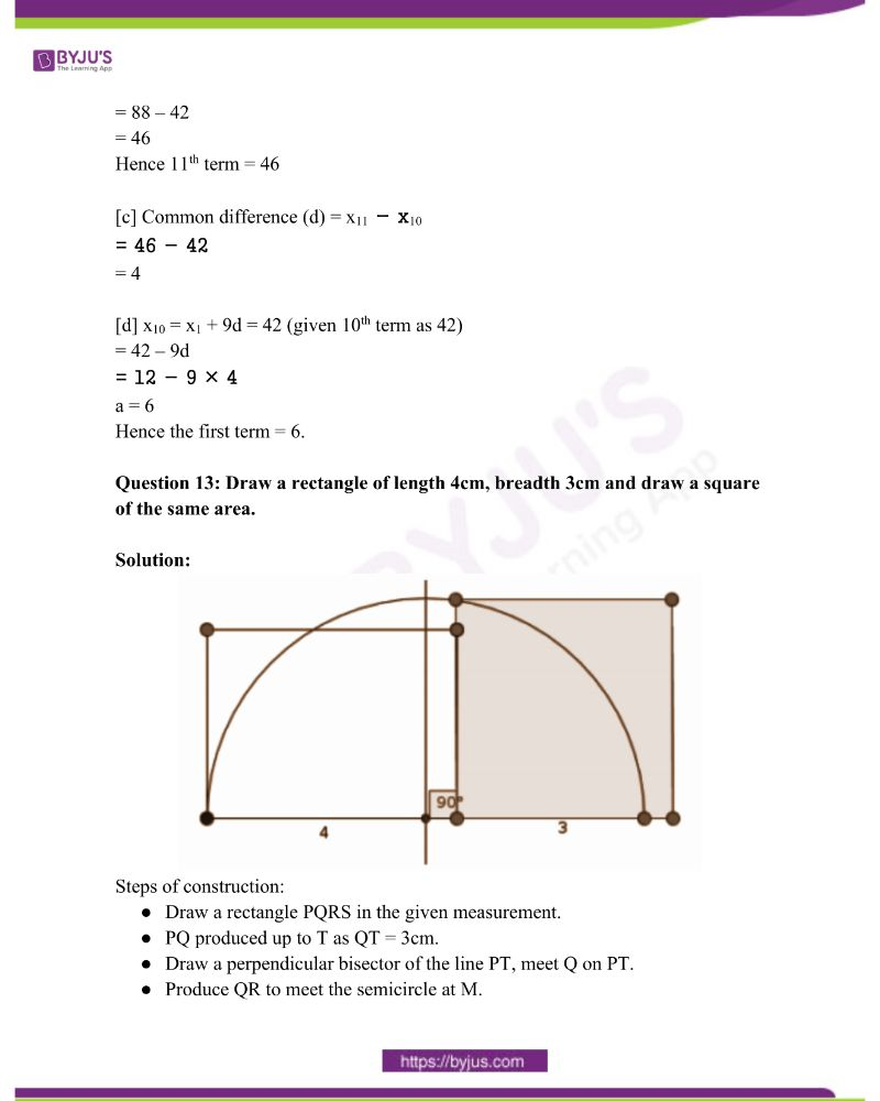 Kerala Class 10 Examination Question Paper Solutions March 2018 10