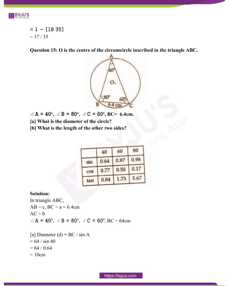 Kerala Class 10 Examination Question Paper Solutions March 2018 12