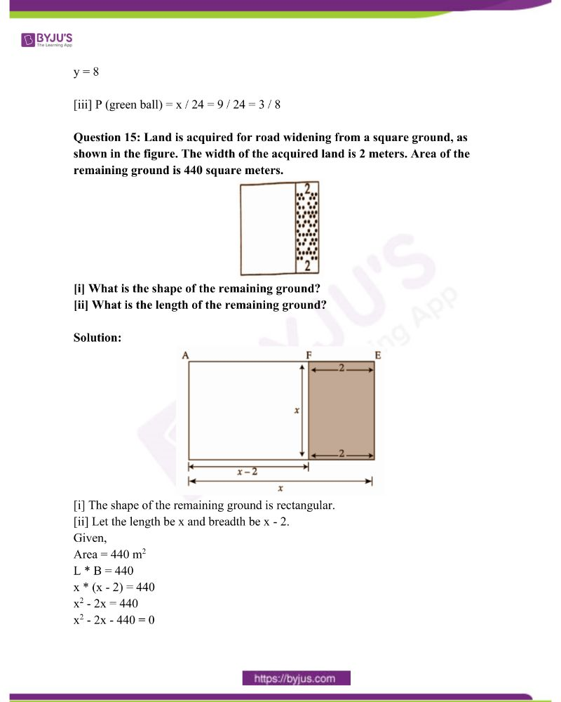 Kerala Class 10 Examination Question Paper Solutions March 2019 13