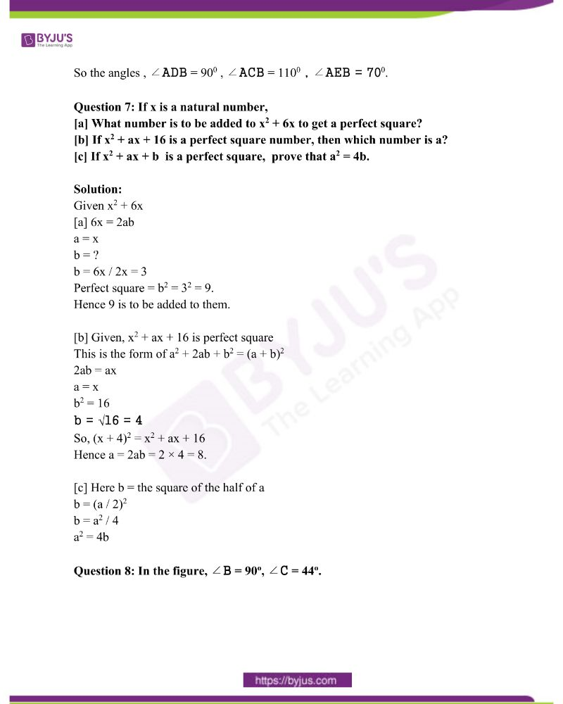 Kerala Class 10 Examination Question Paper Solutions March 2019 4