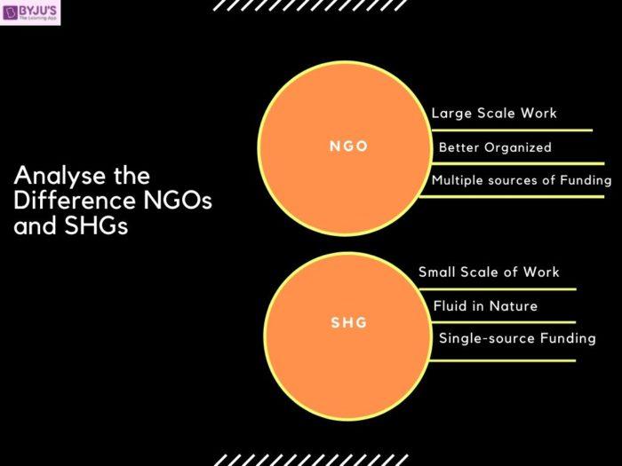 NGOs and SHGs - UPSC 2020 Exam