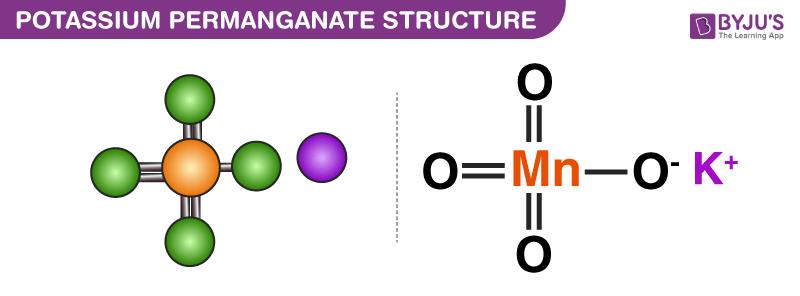 Potassium Permanganate Structure