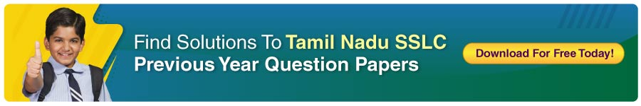 TN Board Class 10 Previous Year Question Papers