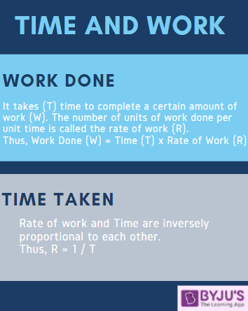 Time and Work - Quantitative Aptitude for Government Exams