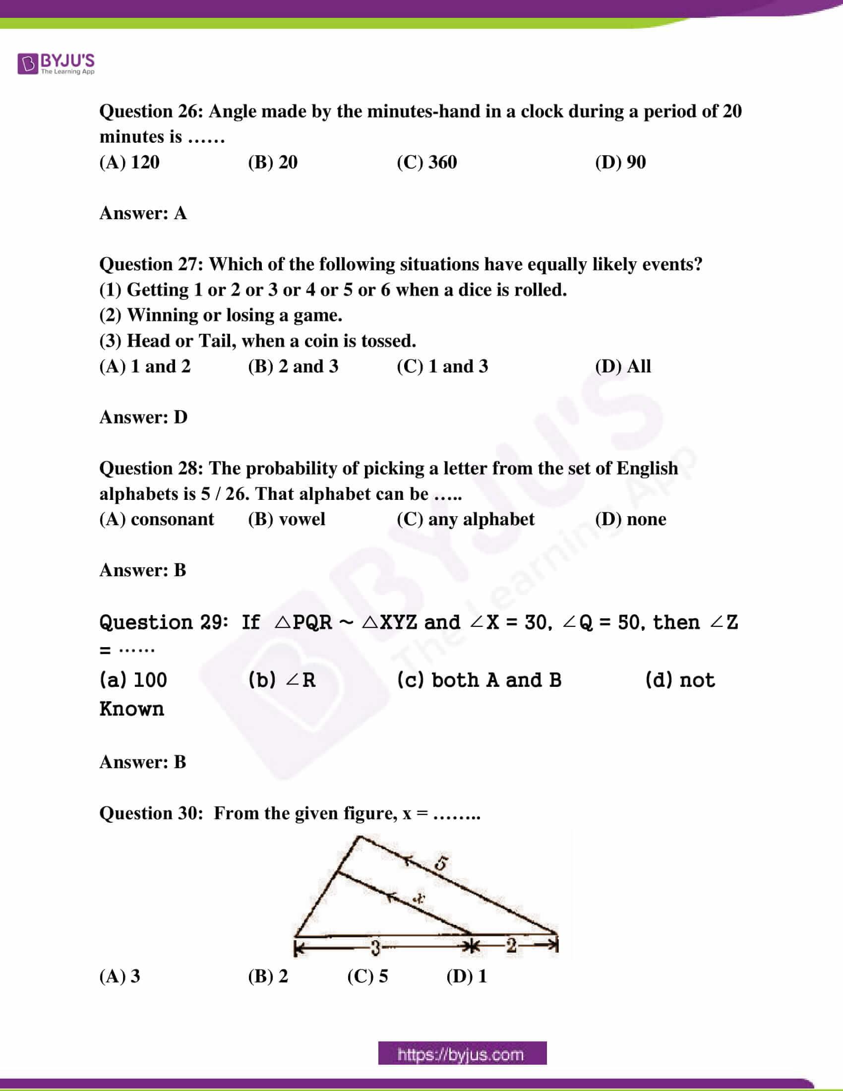 ap class 10 maths question paper 2 sol march 2017 12