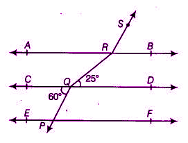 Lines and angles question 9