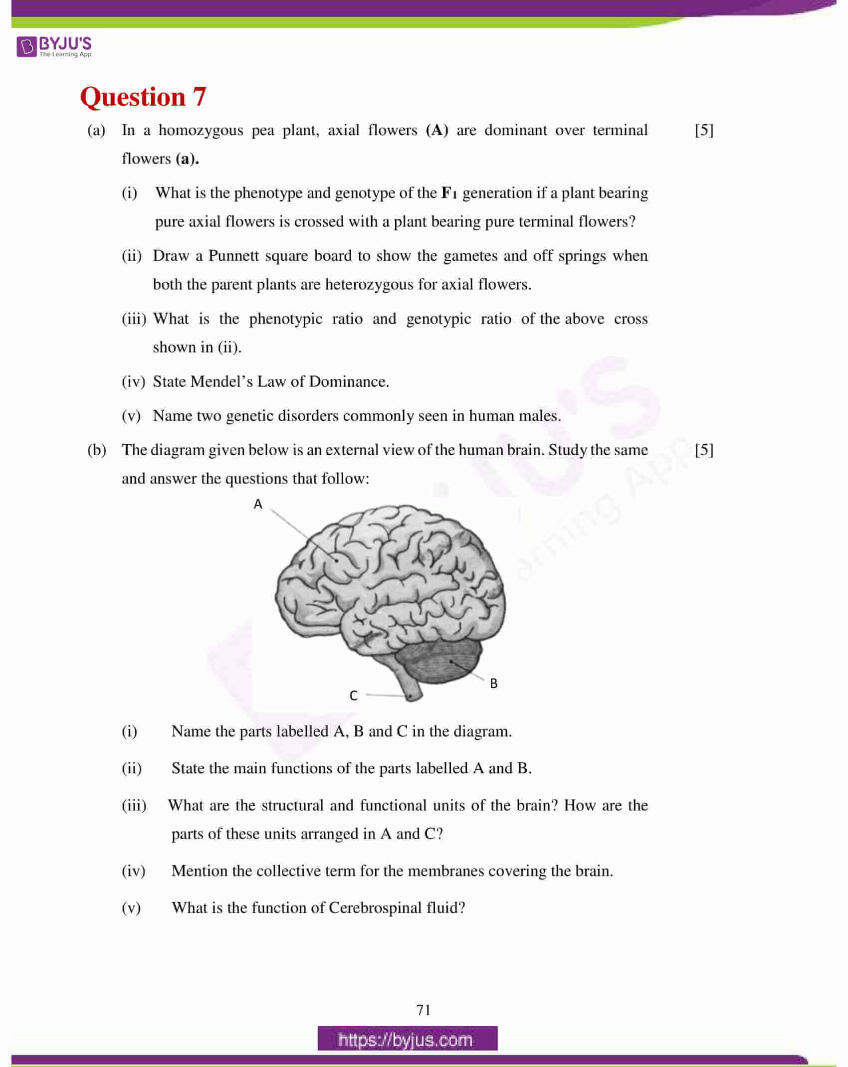 icse class 10 biology question paper solution 2017 21