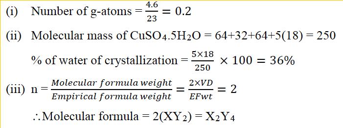 ICSE Class 10 Chemistry Qs Paper 2017 Solution-4