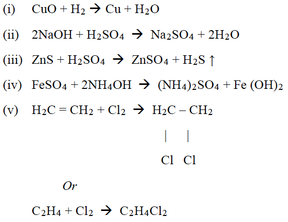 ICSE Class 10 Chemistry Qs Paper 2019 Solution-2