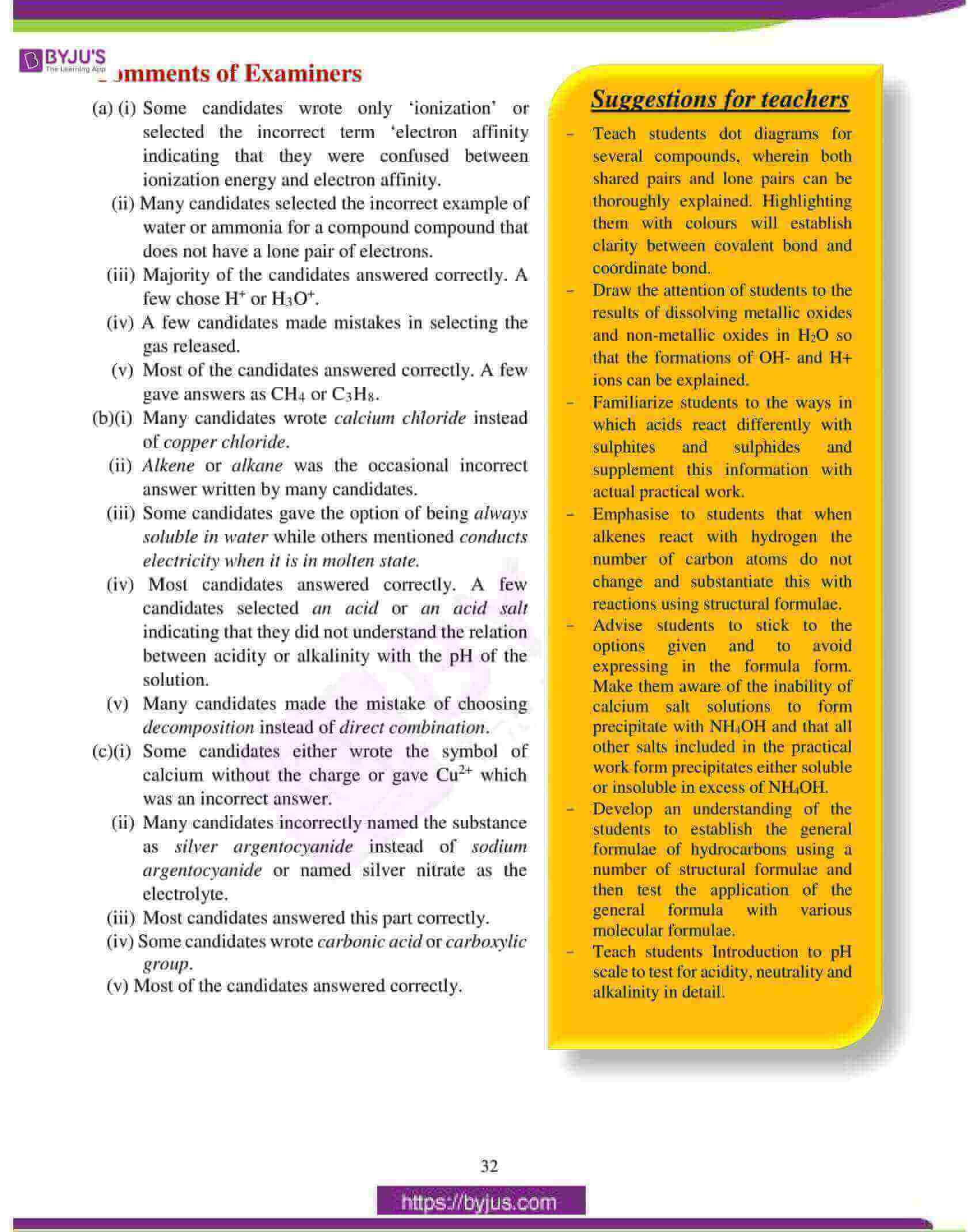 icse class 10 chemistry question paper solution 2017 04