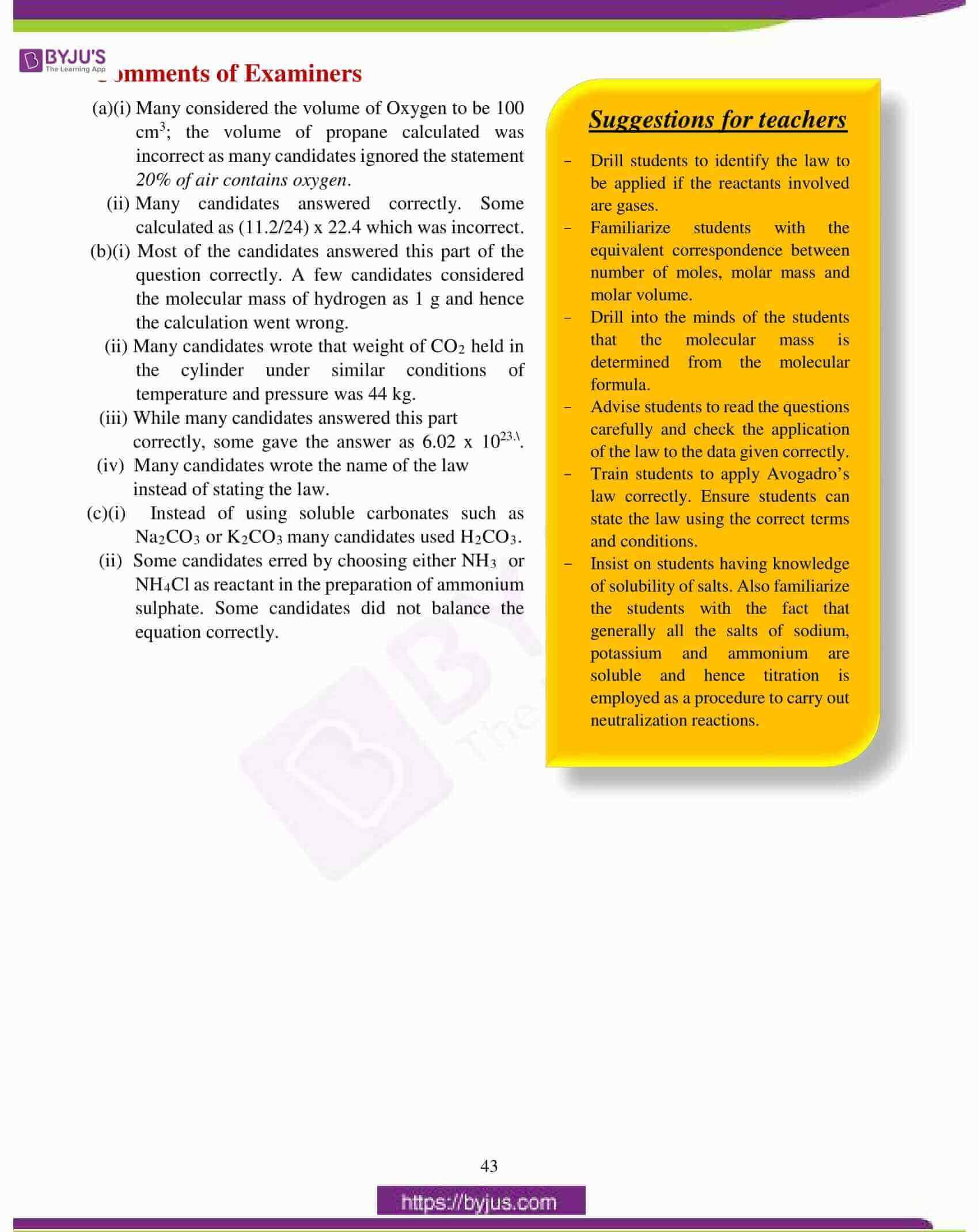 icse class 10 chemistry question paper solution 2017 15