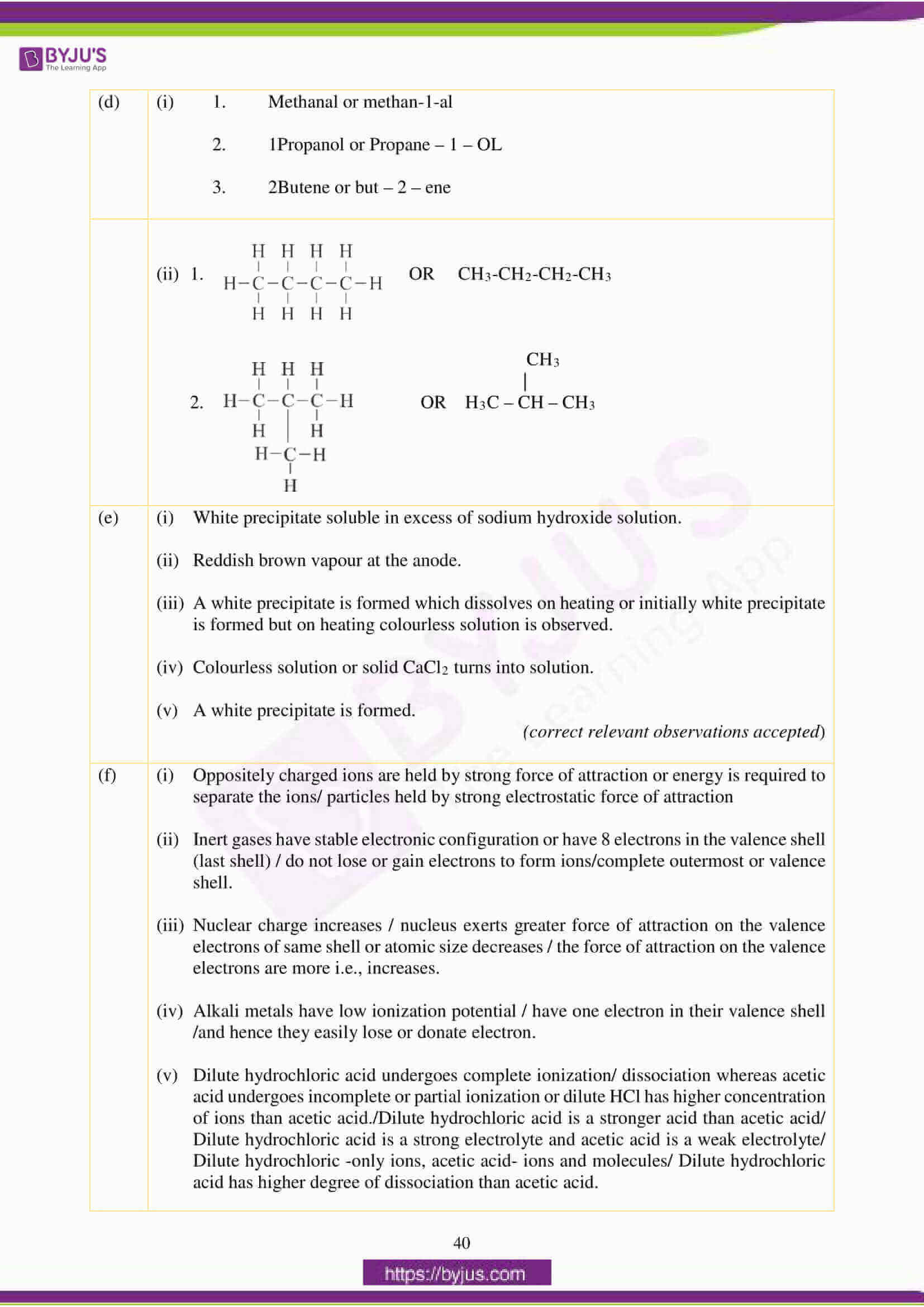 icse class 10 chemistry question paper solution 2018 07