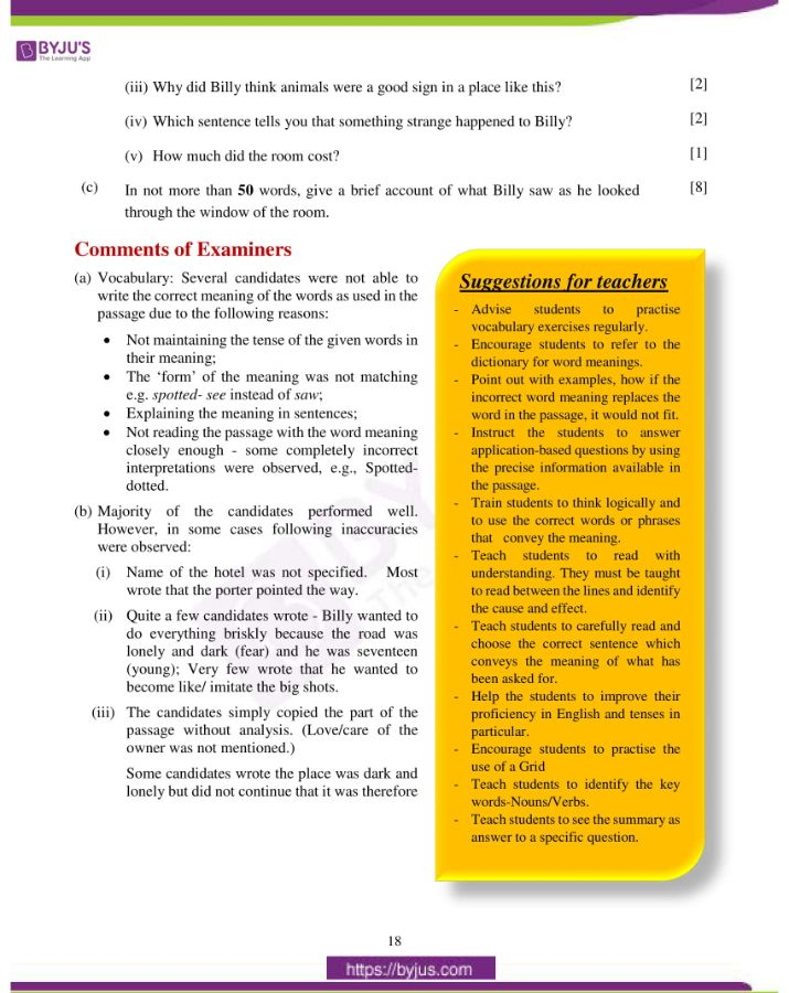 icse class 10 eng lan question paper solution 2019 09
