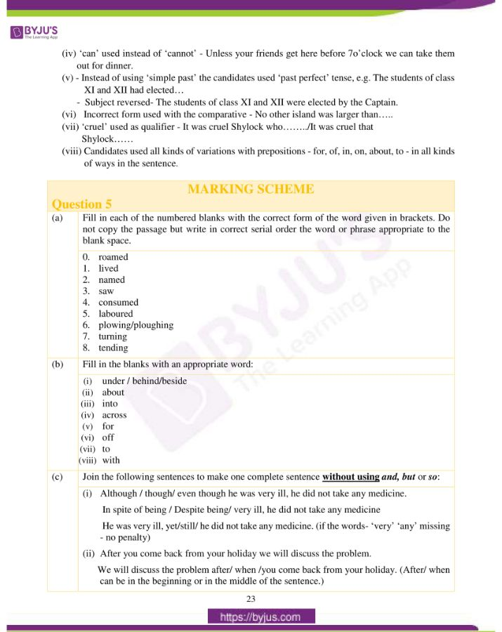 icse class 10 eng lan question paper solution 2019 14