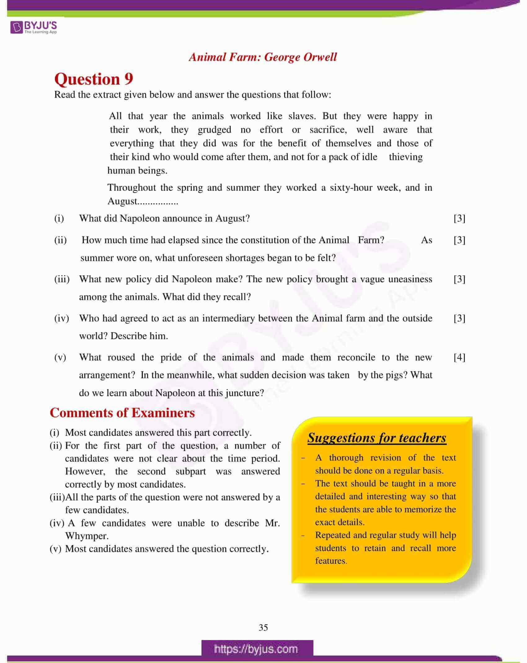 icse class 10 eng lit question paper solution 2017 15
