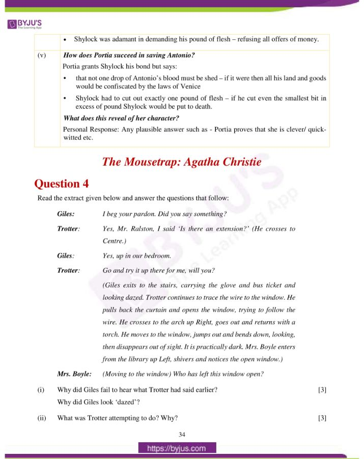 icse class 10 eng lit question paper solution 2019 08