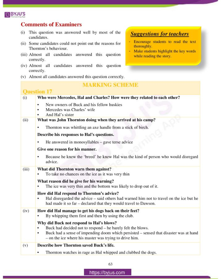 icse class 10 eng lit question paper solution 2019 37