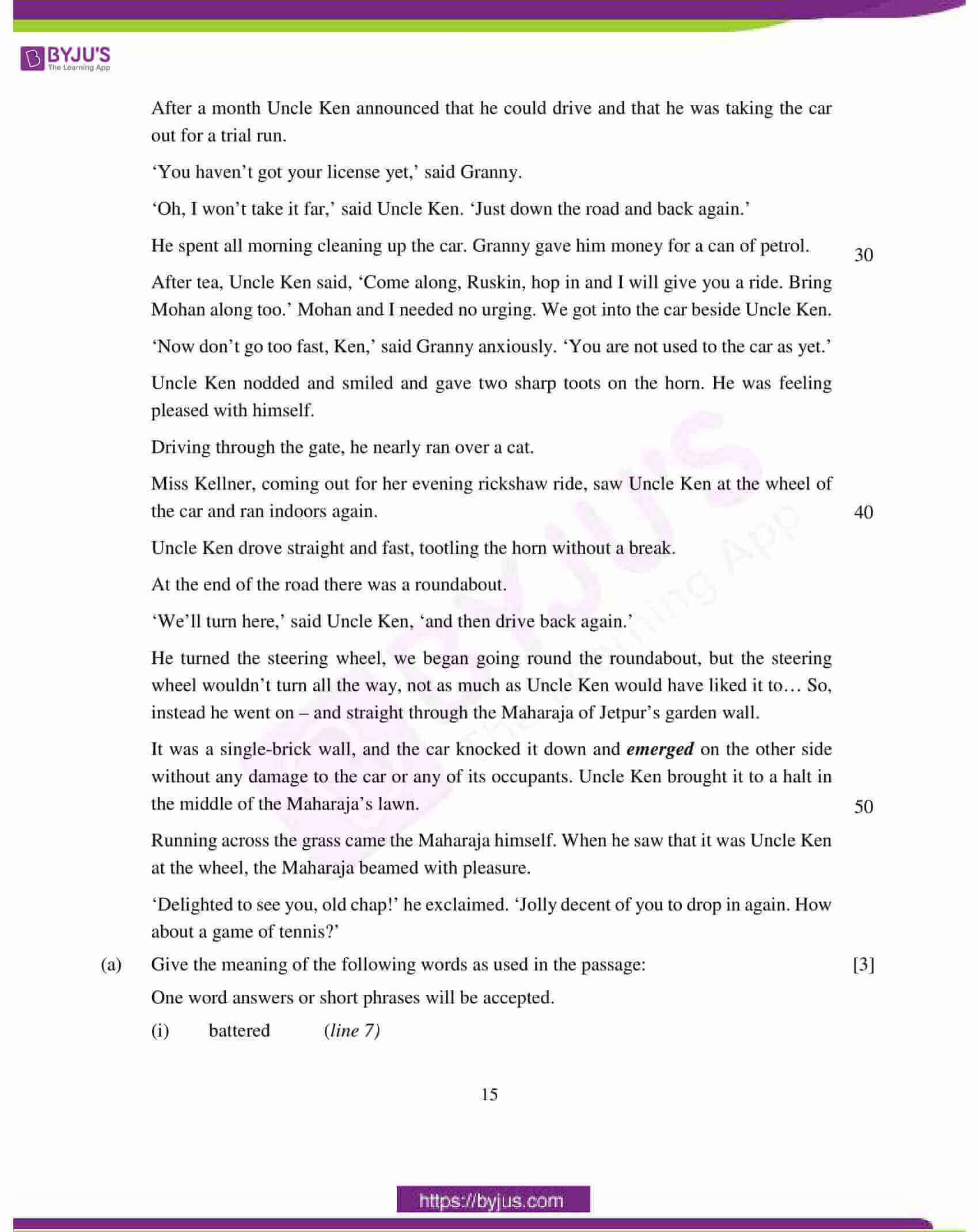 icse class 10 english lan question paper solution 2018 06