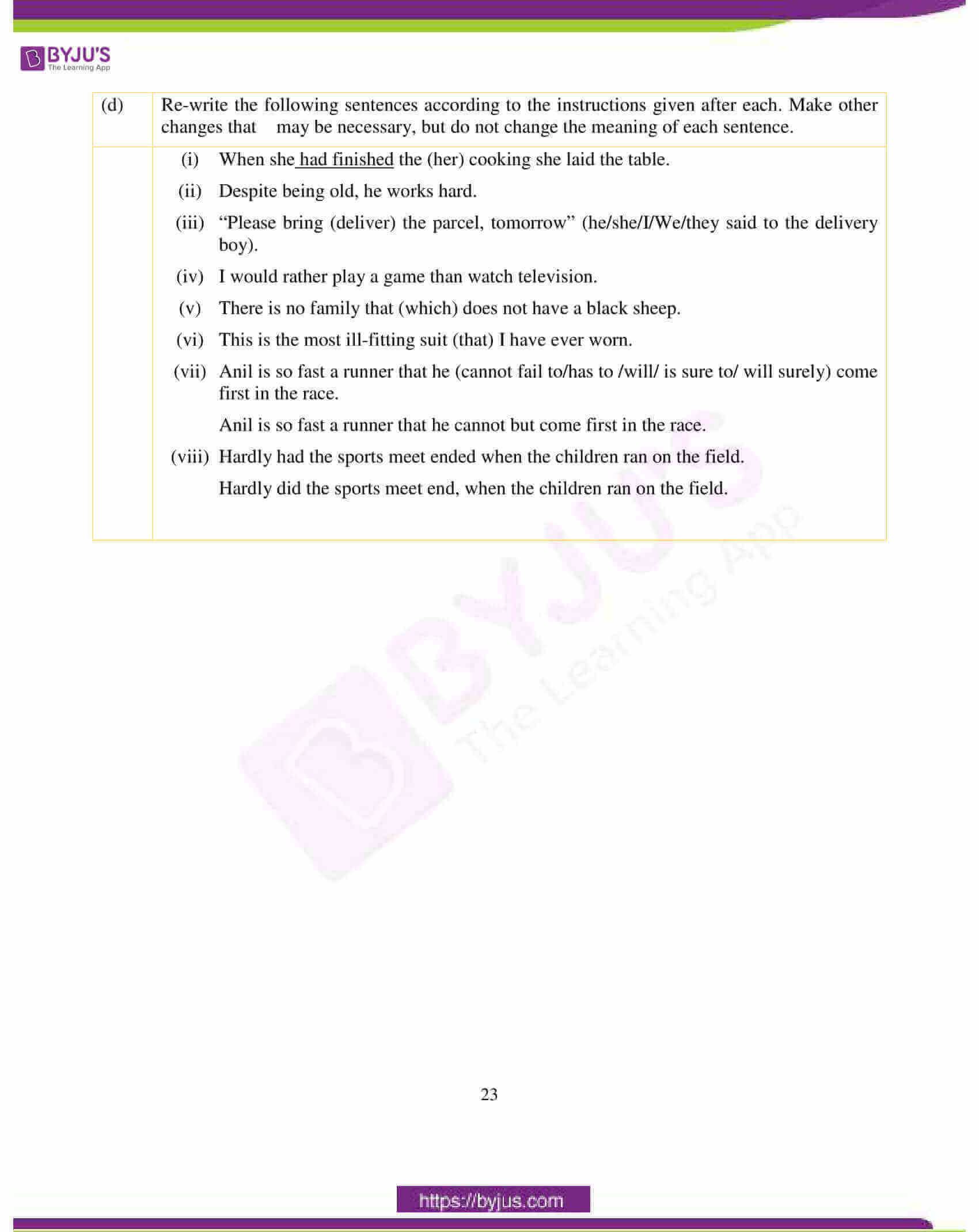 icse class 10 english lan question paper solution 2018 14