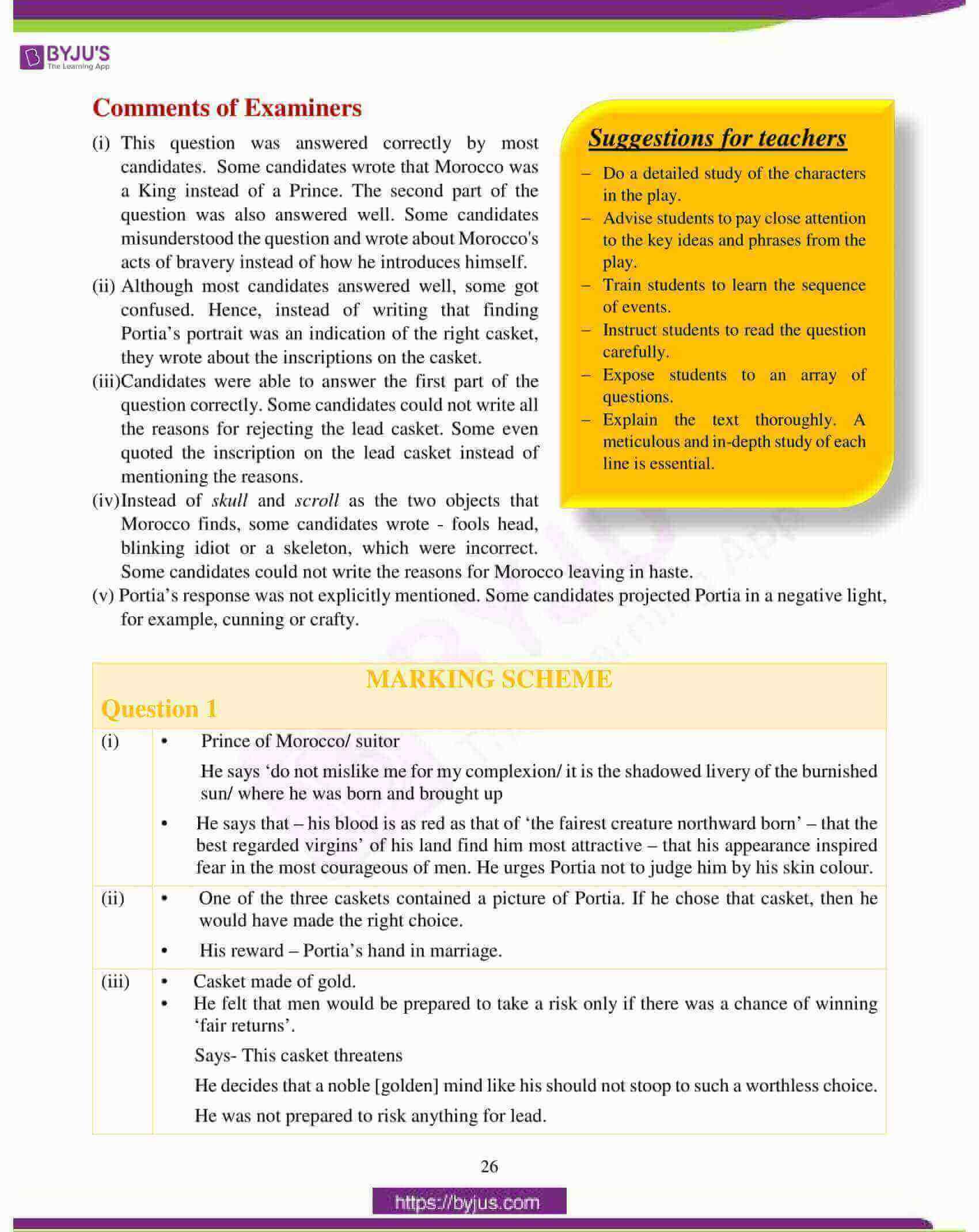 icse class 10 english lit question paper solution 2018 02