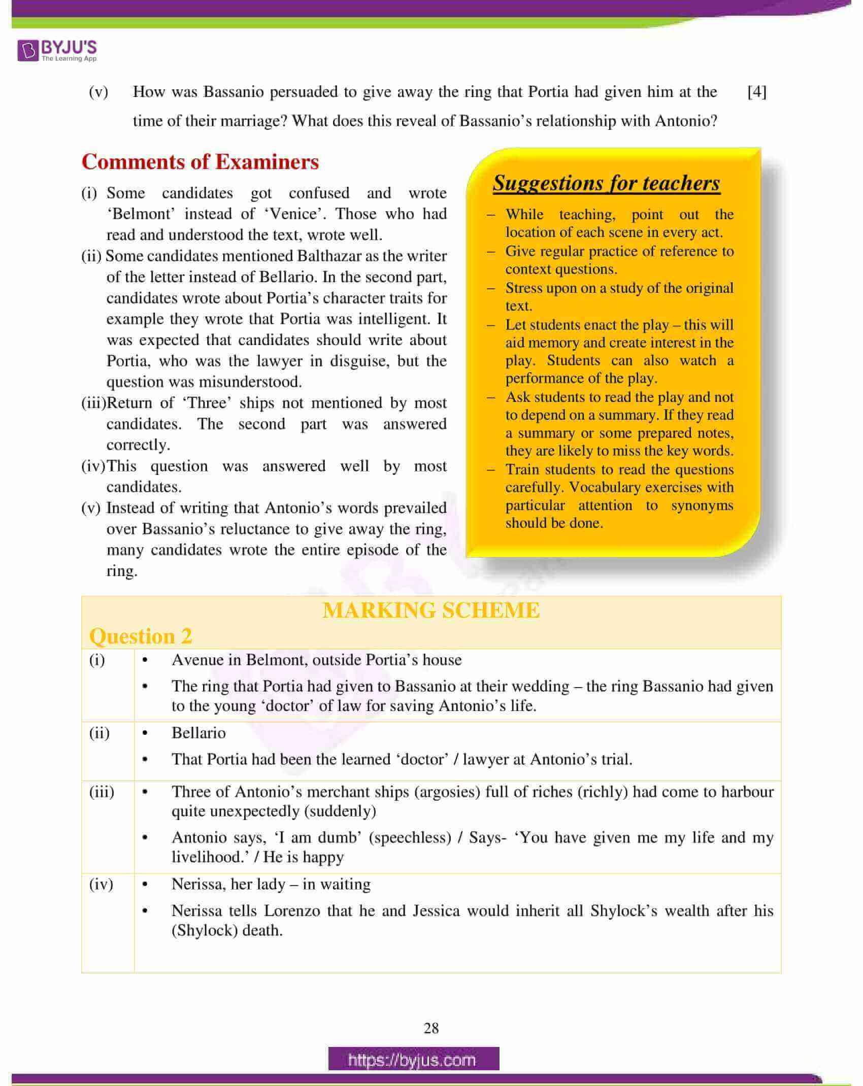 icse class 10 english lit question paper solution 2018 04