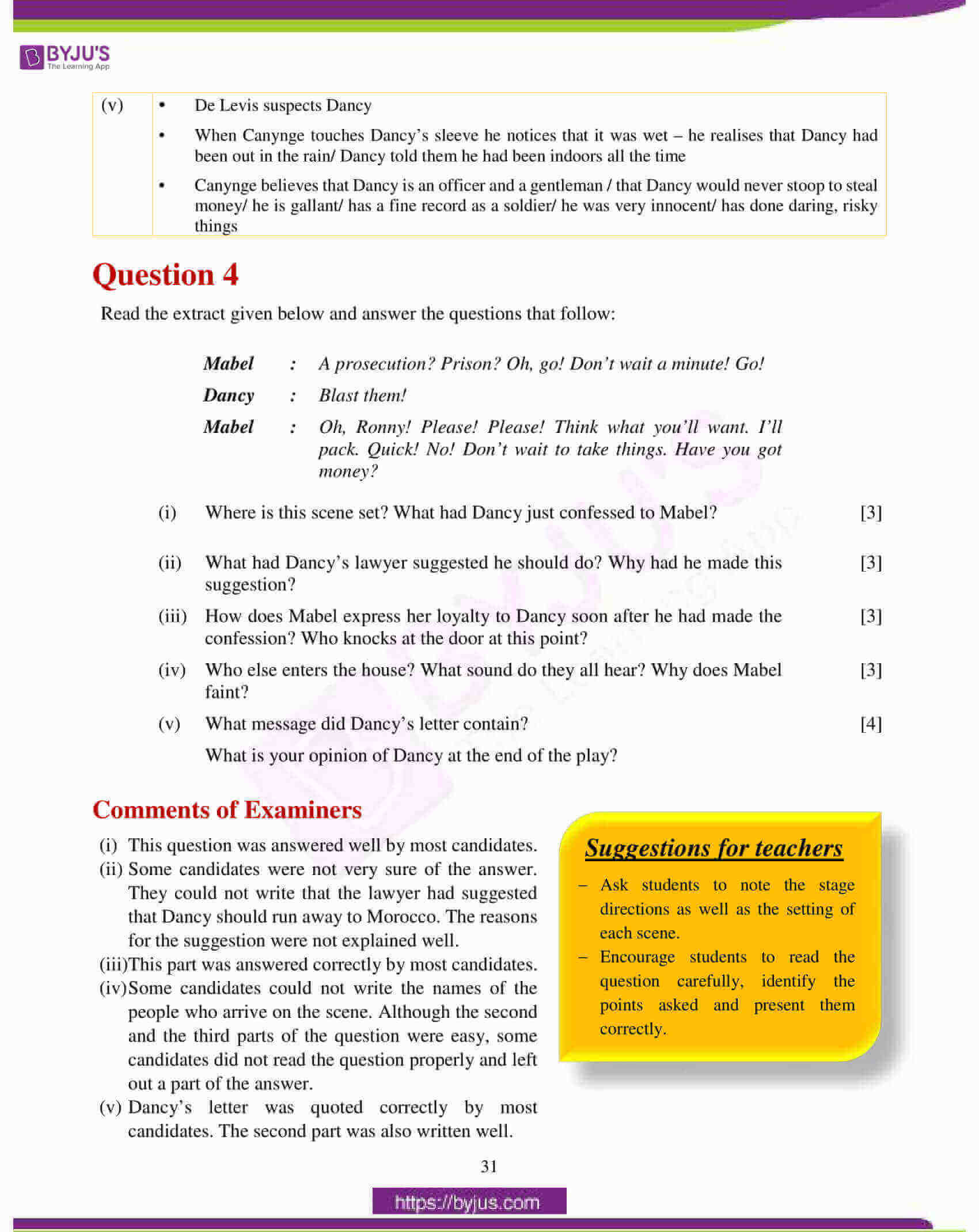 icse class 10 english lit question paper solution 2018 07