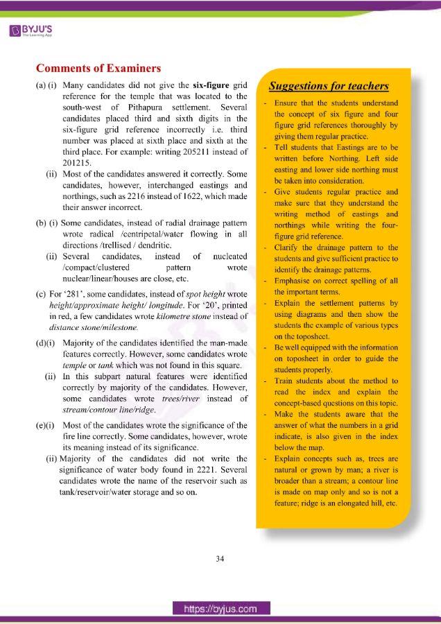 icse class 10 geo question paper solution 2019 02