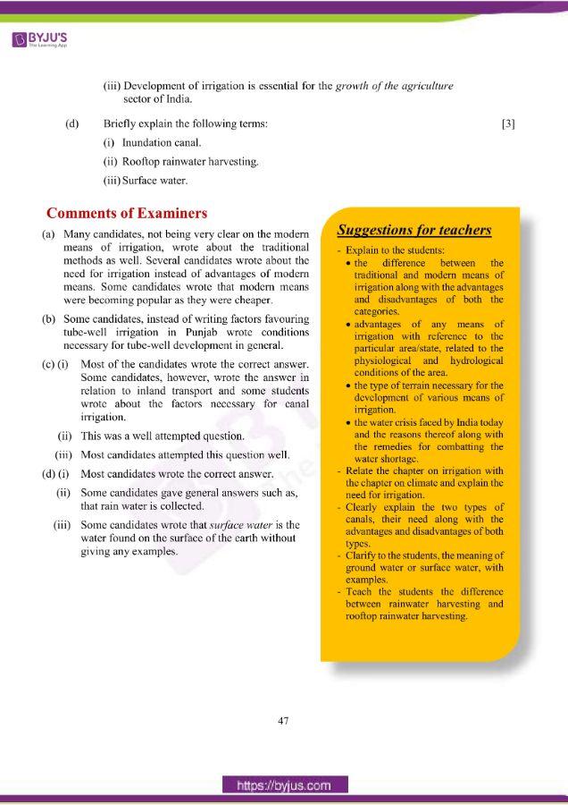icse class 10 geo question paper solution 2019 15