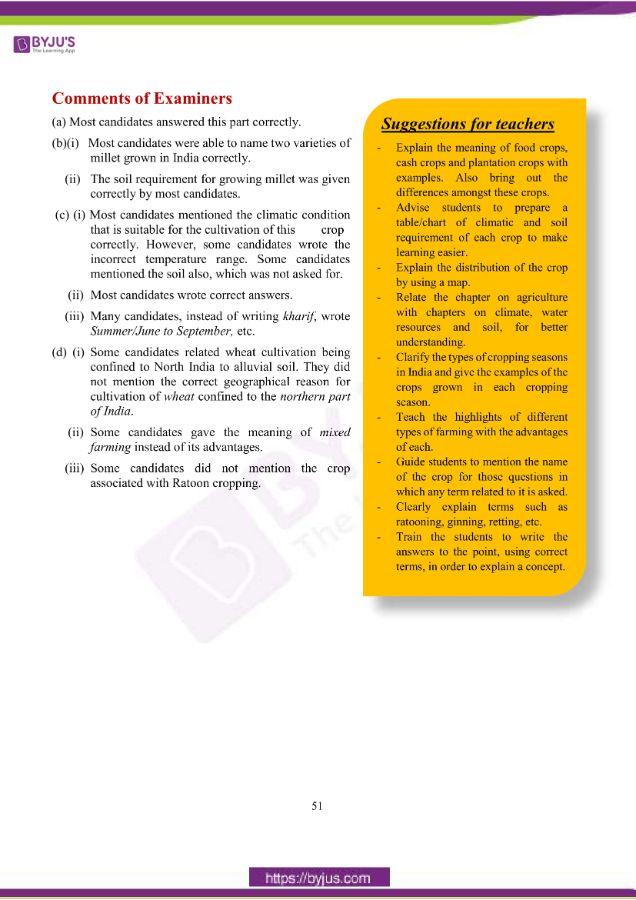 icse class 10 geo question paper solution 2019 19