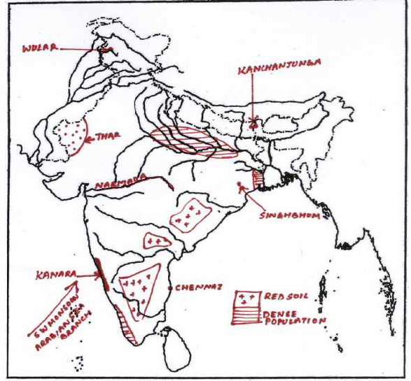 ICSE Class 10 Geography Qs Paper 2018 Solution-1