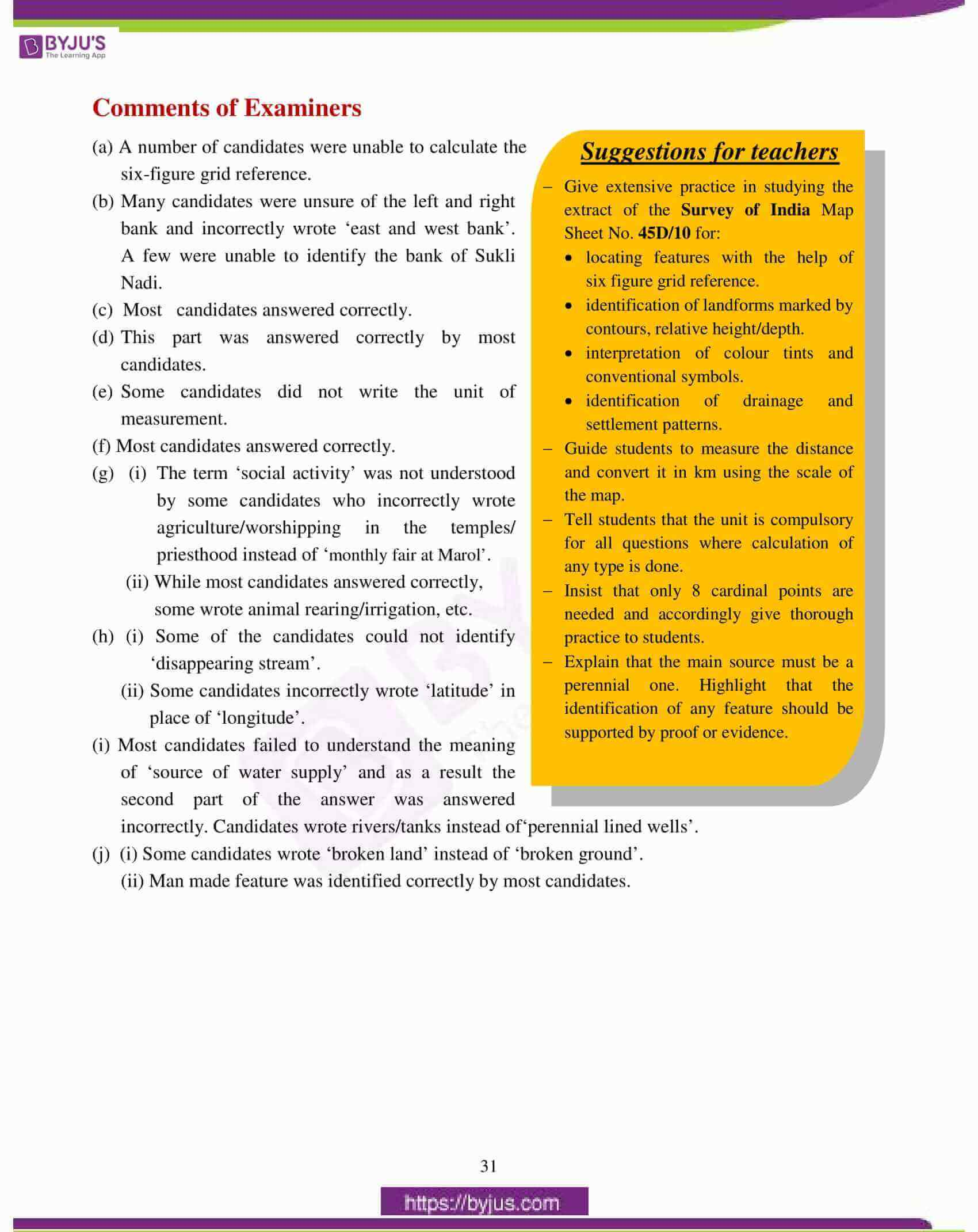 icse class 10 geography question paper solution 2017 02