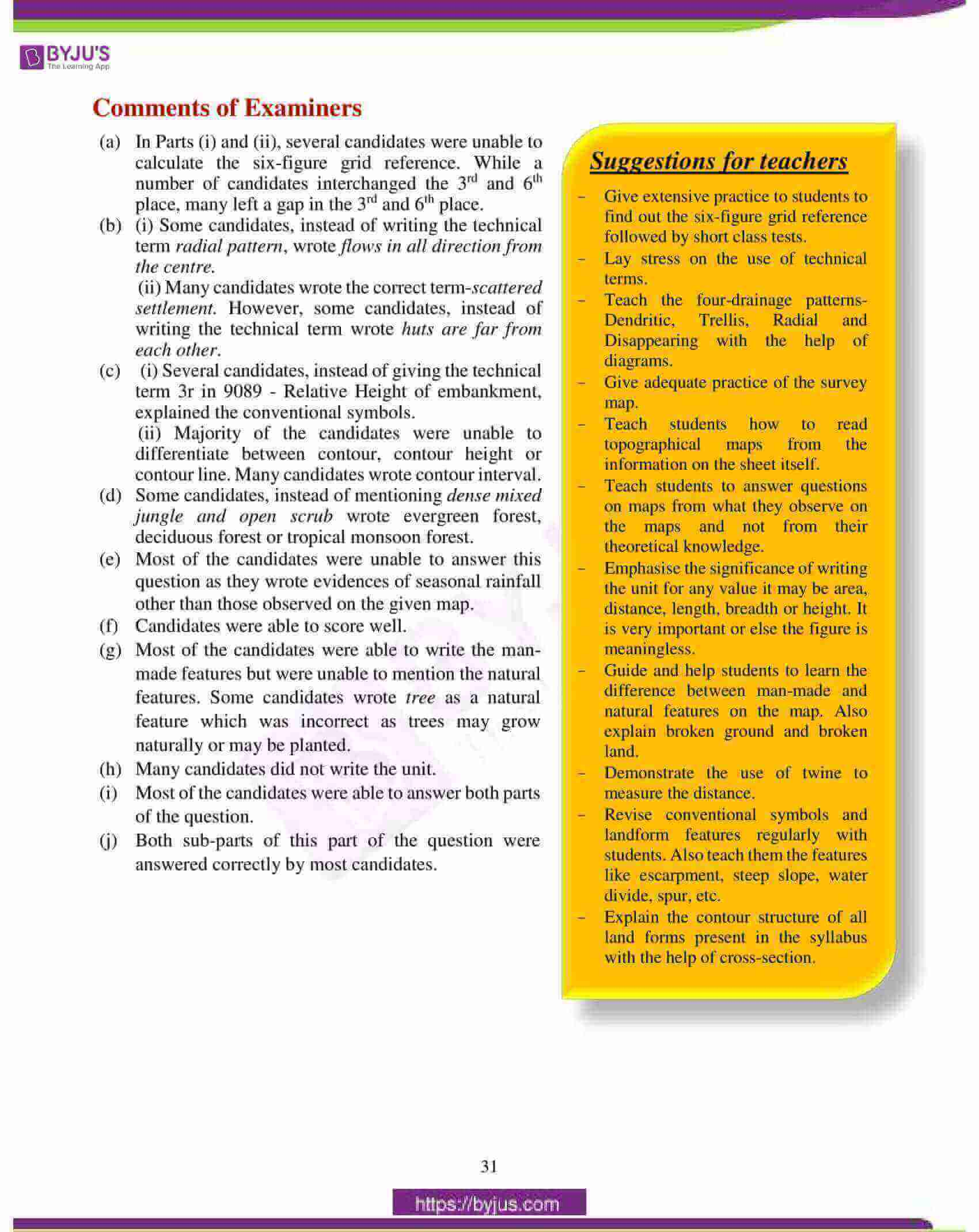 icse class 10 geography question paper solution 2018 02
