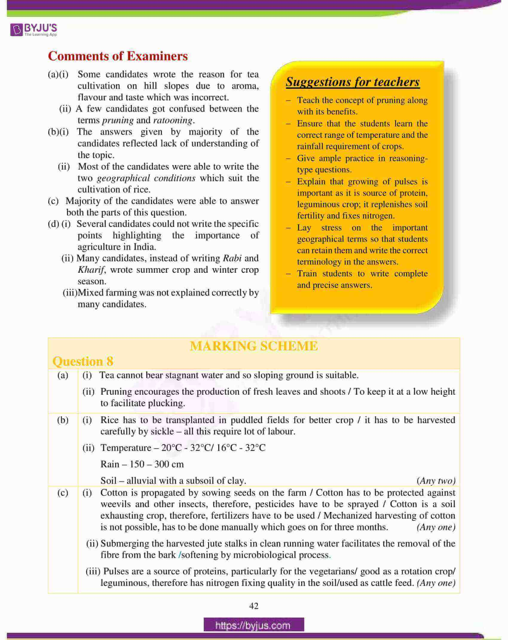 icse class 10 geography question paper solution 2018 13
