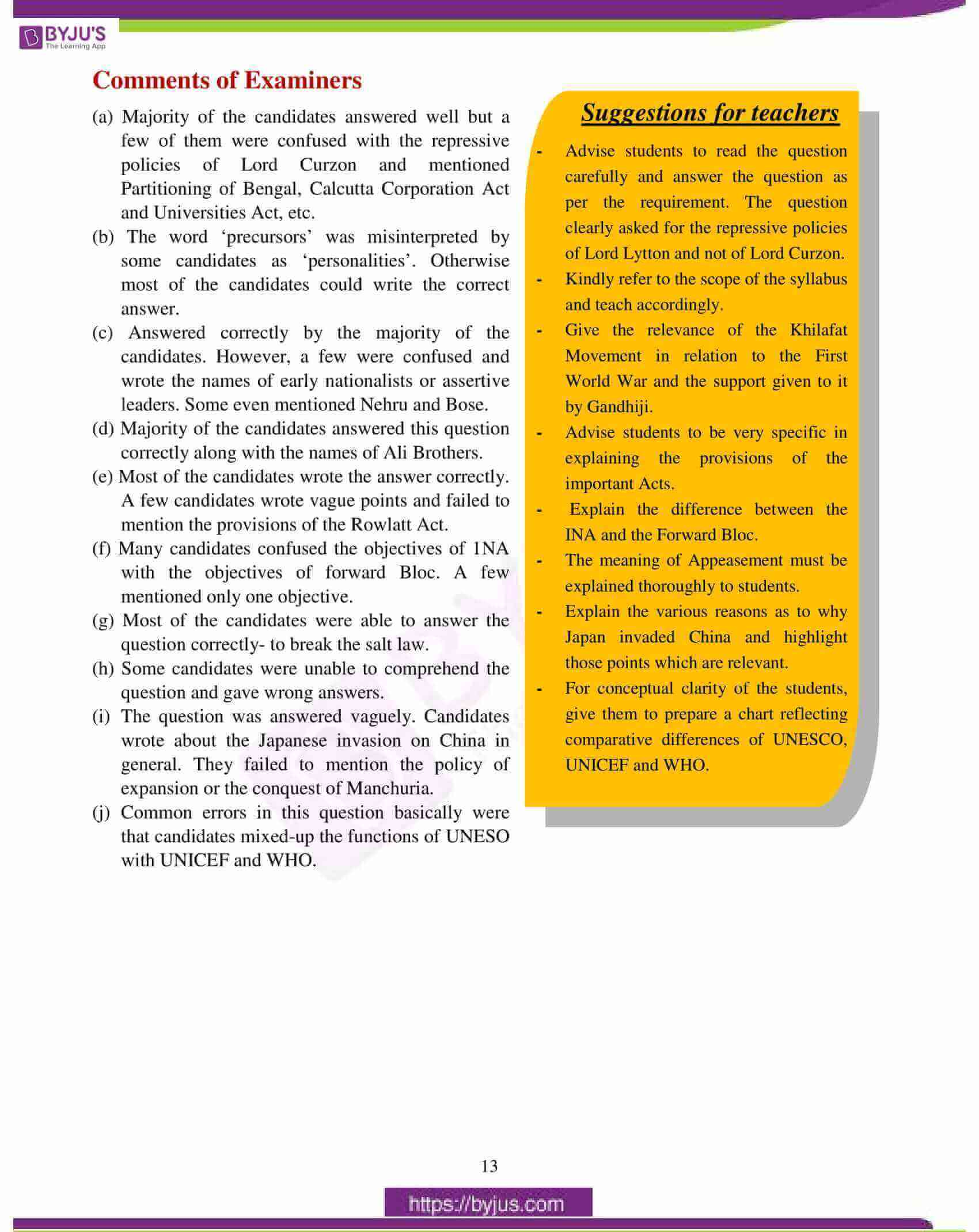icse class 10 history civics question paper solution 2017 04