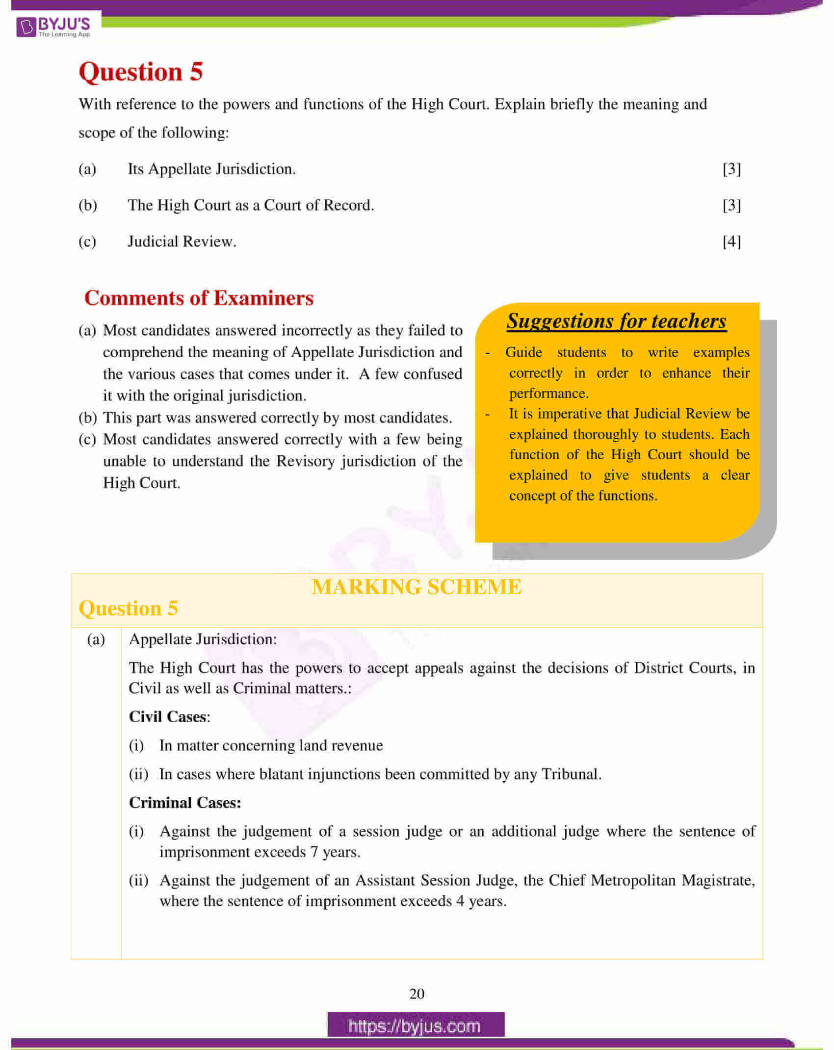 icse class 10 history civics question paper solution 2017 11