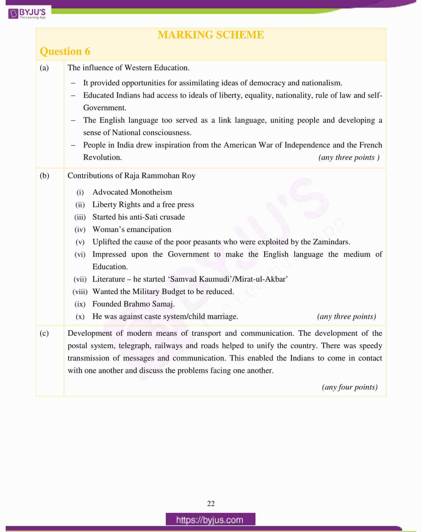 icse class 10 history civics question paper solution 2017 13