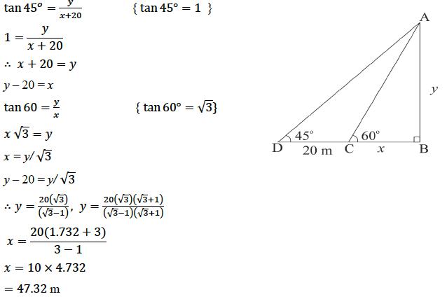 ICSE Class 10 Maths Qs Paper 2019 Solution-26