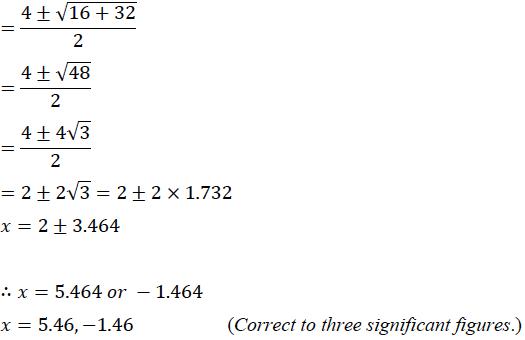 ICSE Class 10 Maths Qs Paper 2019 Solution-9